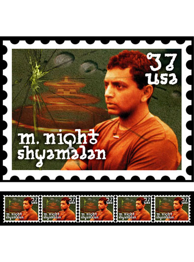 M. Night Shyamalan Stamp